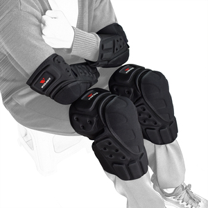 Image 4 - WOSAWE Hard Shell Moto Knee Pads Set Brace Support Sports Off Road Guard MTB Snowboard Kneepad Hockey Motorcycle Protection Kits