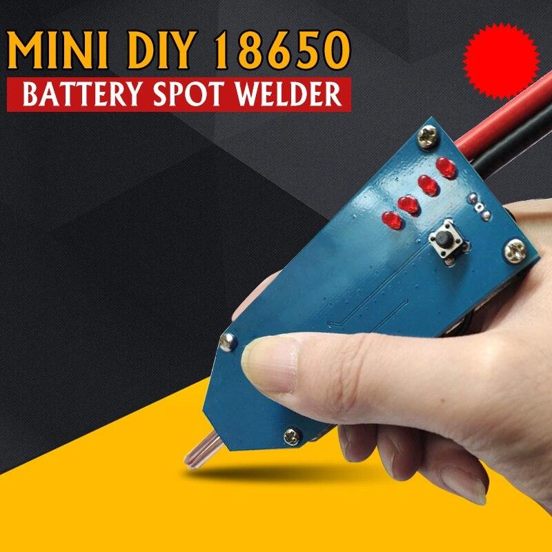 2020 4V-12V Portable Mini DIY 18650 Battery Spot Welder PCB Circuit Board Welding Equipment Storage Machine Spot Welders Pen New