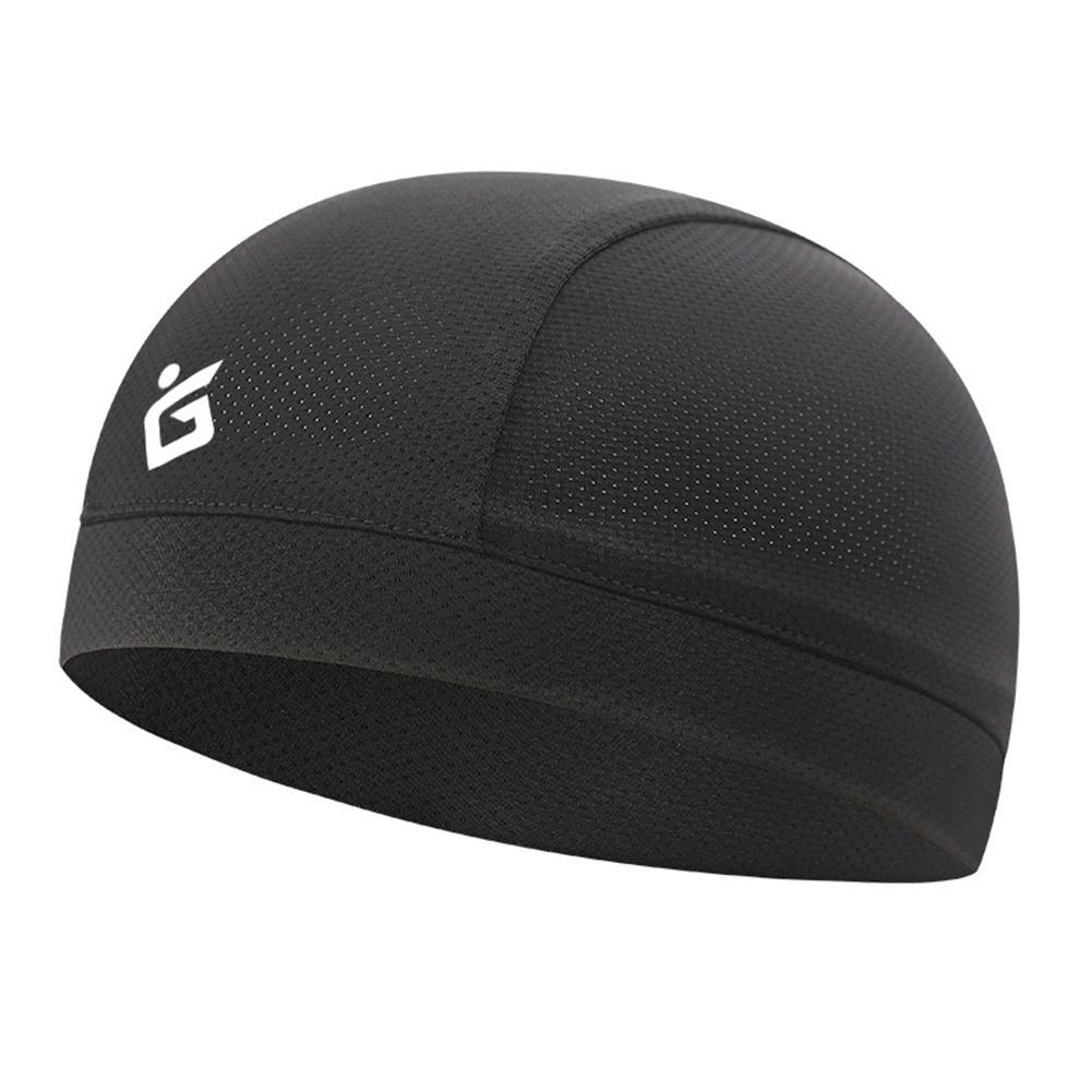 Casquette de crâne de refroidissement respirant été casquettes de cyclisme tissu de glace Anti-UV vélo tête écharpe casque Liner sport pêche chapeau de course
