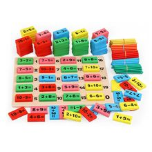 1 Set Wooden Math Toys Early Learning Education for Children