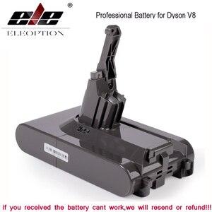 Sv10 4000mah 21.6v li-ion bateria de substituição para dyson v8 bateria absoluta/fofo/animal/aspirador de pó bateria