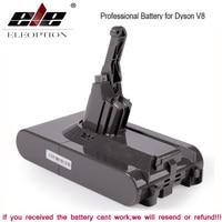 Batteria di ricambio agli ioni di litio SV10 4000mAh 21.6V per batteria Dyson V8 V7 batteria assoluta/soffice/animale/aspirapolvere e 3.0mAh