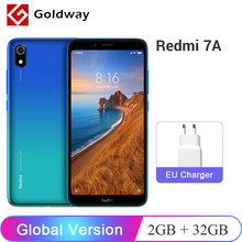 "Global Version Xiaomi Redmi 7A 7 A 2GB RAM 32GB ROM Mobile Phone 5.45"" Snapdargon 439 Octa core 4000mAh Battery 12MP Camera(Hong Kong,China)"