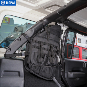 Image 3 - MOPAI Stowing לסדר עבור ג יפ רנגלר JL מכונית דלת צד אנטי רול אחסון תיק עבור ג יפ רנגלר JL 2018 + 4 דלת אביזרים