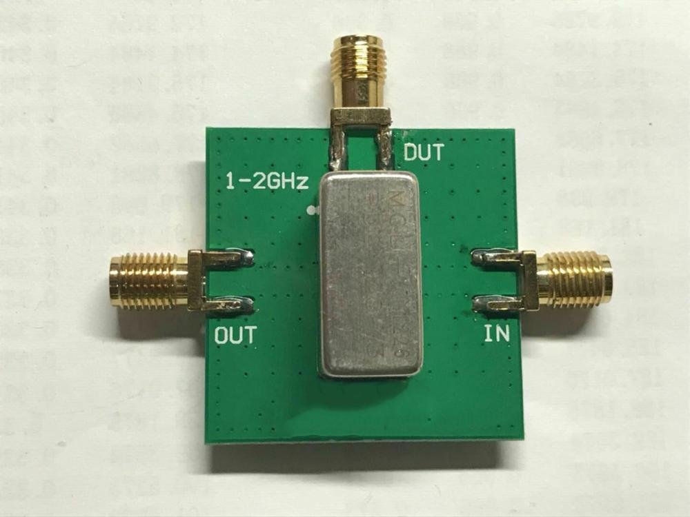 Crystal Filter 10.7MHz Bandpass Filter BPF With Mini-Circuits PBP-10.7+