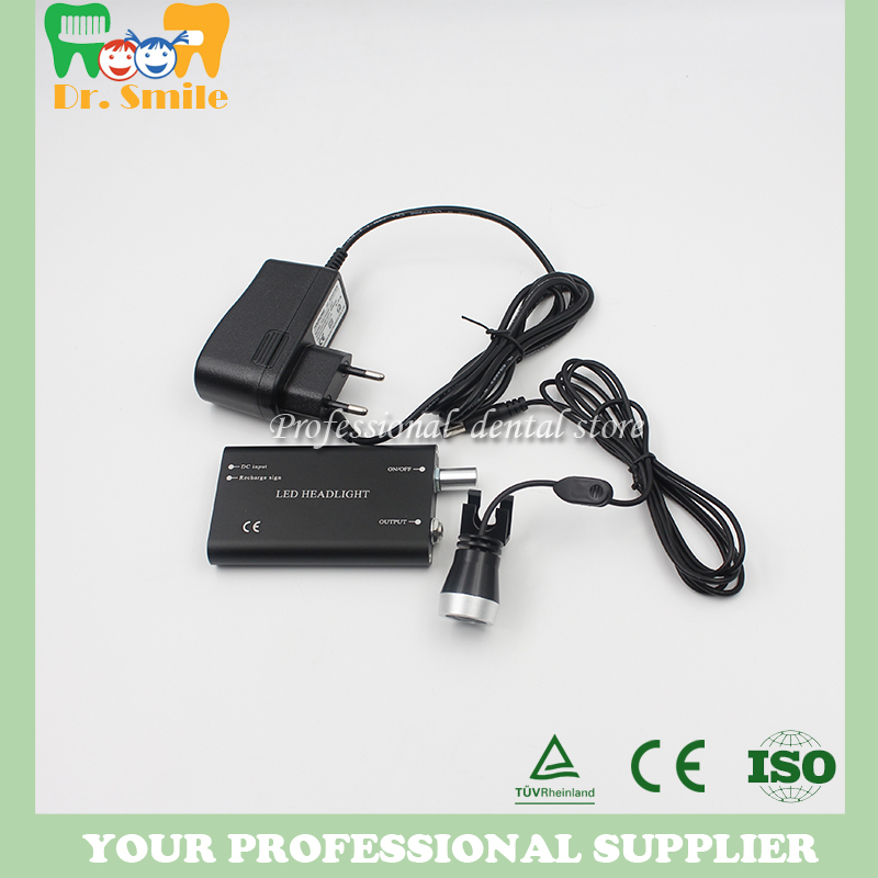 Dental LED Head Light Lamp Headlight for Surgical Loupes