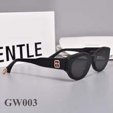 2020 New fashion  Small Frame Cat Eyes women men Sunglasses  Acetate Polarized UV400 GENTLE GW003 Oval Sunglasses for  women men