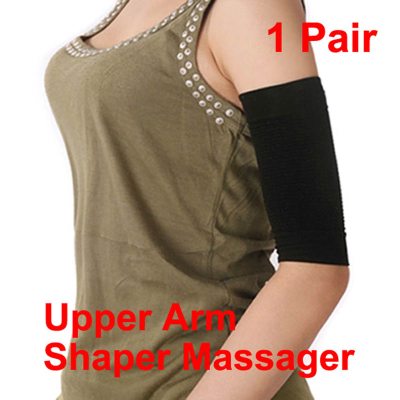 2019 Newly 2-Piece Set Women Slimming Arm Shaper Arm Warmers Massage Lose Fat Weight Loss Calorie Off Fat Buster Slimmer Arm