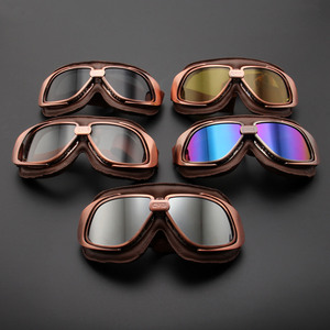 Retro Motorcycle Goggles Glass