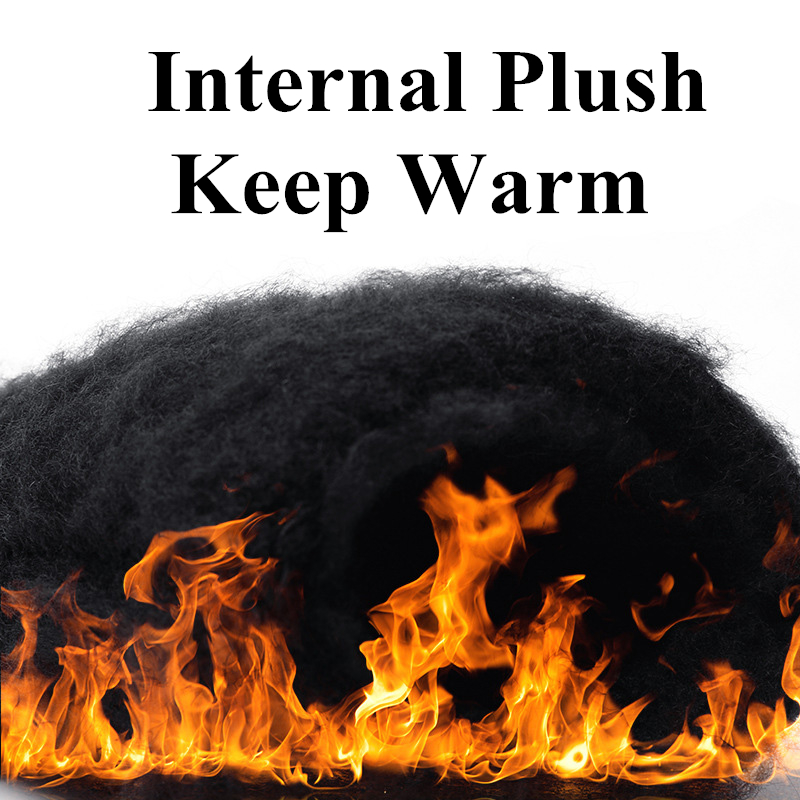 Mitten Business-Gloves Touch-Screen Cashmere Wool Warm Autumn Winter Male Solid Thicken