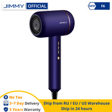 JIMMY F6 – sèche-cheveux électrique ionique négatif, Portable, 1800W, Nano Ion d'eau, réduction du bruit, professionnel, contrôle de la chaleur PID