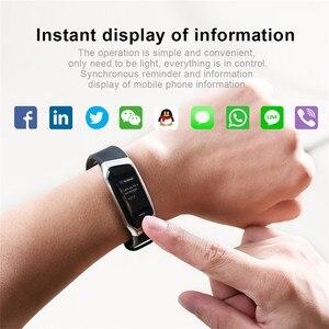 Image 3 - E18 Smart Bracelet Blood Pressure Heart Rate Monitor Fitness Activity Tracker smart watch Waterproof Sport Band
