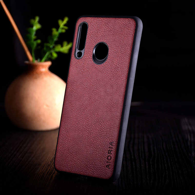 Case for Huawei P30 Pro Lite coque luxury Leather Vintage litchi pattern capa phone cover for huawei p30 pro lite case funda