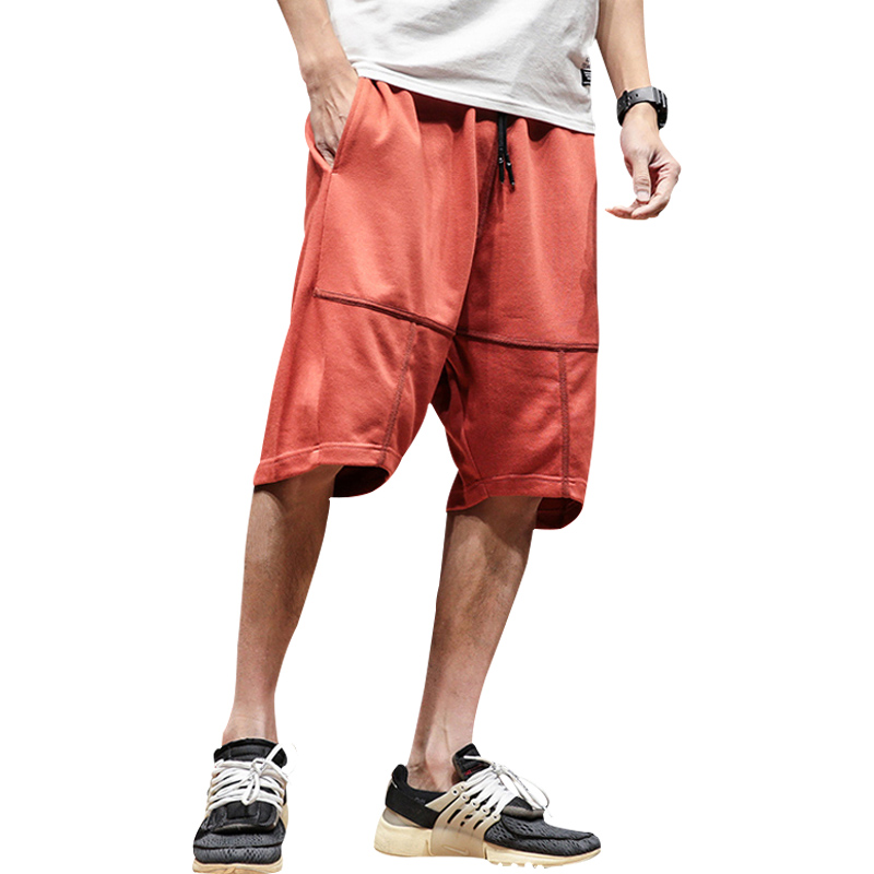 Sport Men Casual Shorts Summer Plus Size Loose Sweatpants Shorts Fashion Streetwear Hip Hop Kleding Vanquish Fitness XX60MS