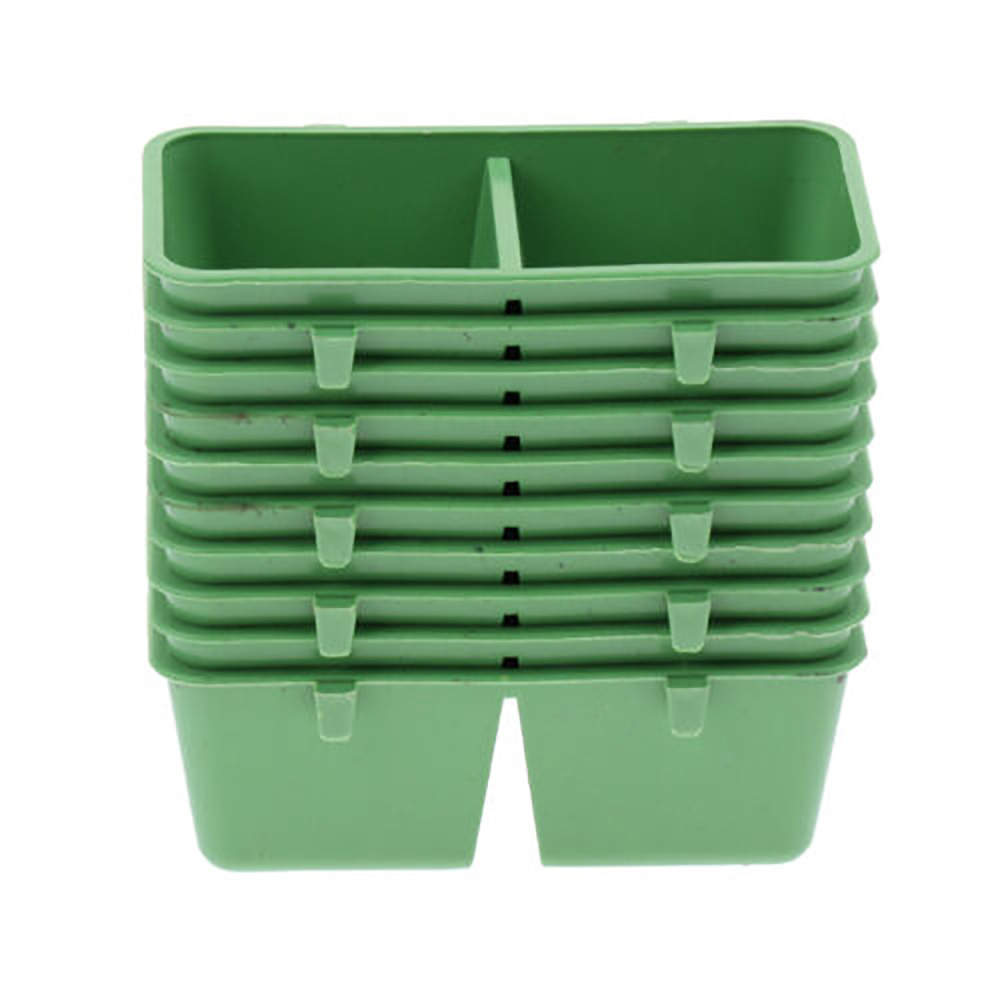 10pcs 2 in 1 Plastic Parrot Food Water Bowl Pet Bird Cage Water Feeder Food Bowl Bird Feeding Supplies