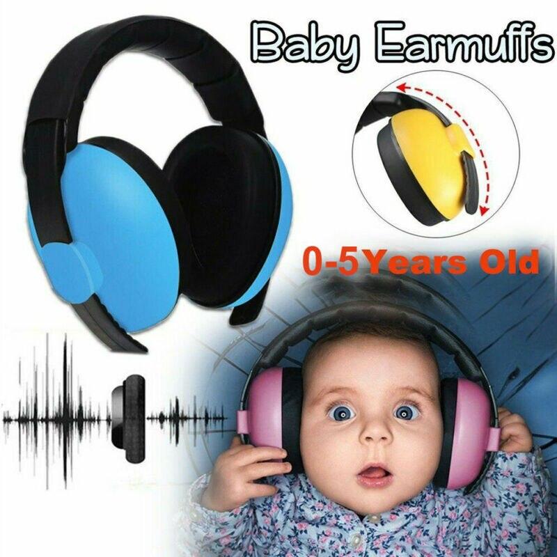 BABY Childs Ear Defenders Ohrenschützer Schutz 0-5Yrs Boys Girls Ear Care