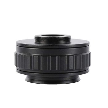 0.5X C-Mount Lens 0.5X CTV Adapter for Trinocular Stereo Zoom Microscope Camera 0.5 Interface Microscope Camera Adapters