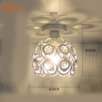 Ceiling light ceiling lamp iron living room lights modern deco salon for dining room hanging led light fixtures surface mounted 23