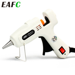 Hot Melt Glue Gun with Glue Stick Car Mini Guns Adhesive Stick Silicone Guns Thermo Gluegun Craft Repair Tool 12V 220V