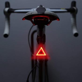 Farol-luz trasera de bicicleta recargable con USB, luz LED de seguridad para...