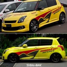 Car Sticker For Suzuki Swift Body Exterior Decoration Modified Sticker Swift Racing Edition Sticker Film