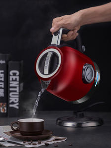 1.8л 304 Электрический чайник из нержавеющей стали с измерителем температуры воды бытовой Быстрый нагрев Электрический чайник Sonifer