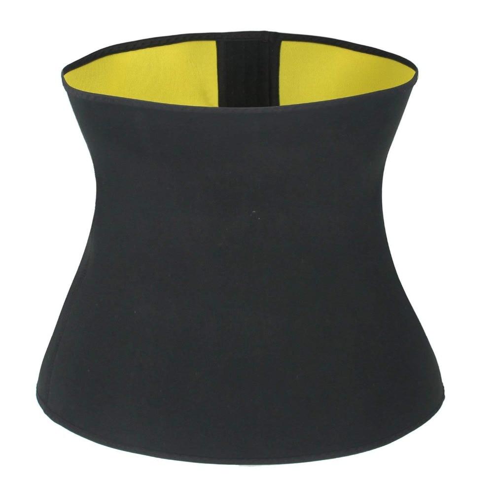 CXZD Women's Hot Thermo Sweat Neoprene Body Shaper Waist Trainer Cincher Corset Tummy Control Shaping Belt Shapewear Slimming Girdle (7)