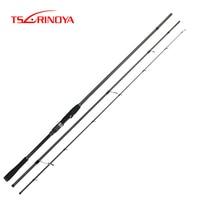 TSURINOYA Long Casting Spinning Rod DETECTIVE 2.4m/2.7m/3.0m/3.3m M Inshore Fishing Rod FUJI Accessory Vara De Pesca Canne Peche