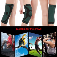 Padded Joint Protection Booster Fitness Running Cycling Knee Support Braces Pad Sleeve for Basketball Volleyball