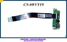 Stonetaskin original para dell vostro 3567 3568 usb placa de leitor áudio wvyy9 0wvyy9 CN-0WVYY9 m223w 0m223w CN-0M223W 100% testado