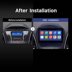 Image 5 - Seicane 안 드 로이드 9.0 2din 자동차 라디오 2009 2010 2011 2012 2015 현대 IX35 GPS 멀티미디어 플레이어 블루투스 OBD2 2GB RAM
