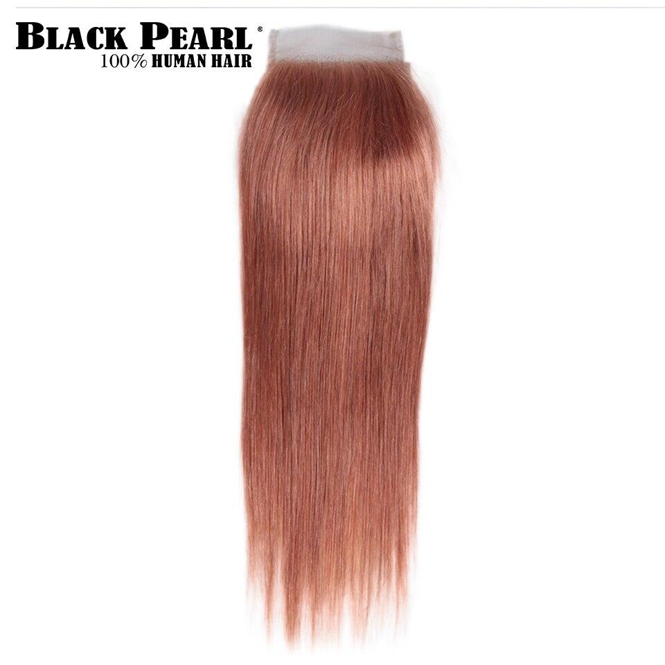 preta com fechamento remy cabelo humano 3