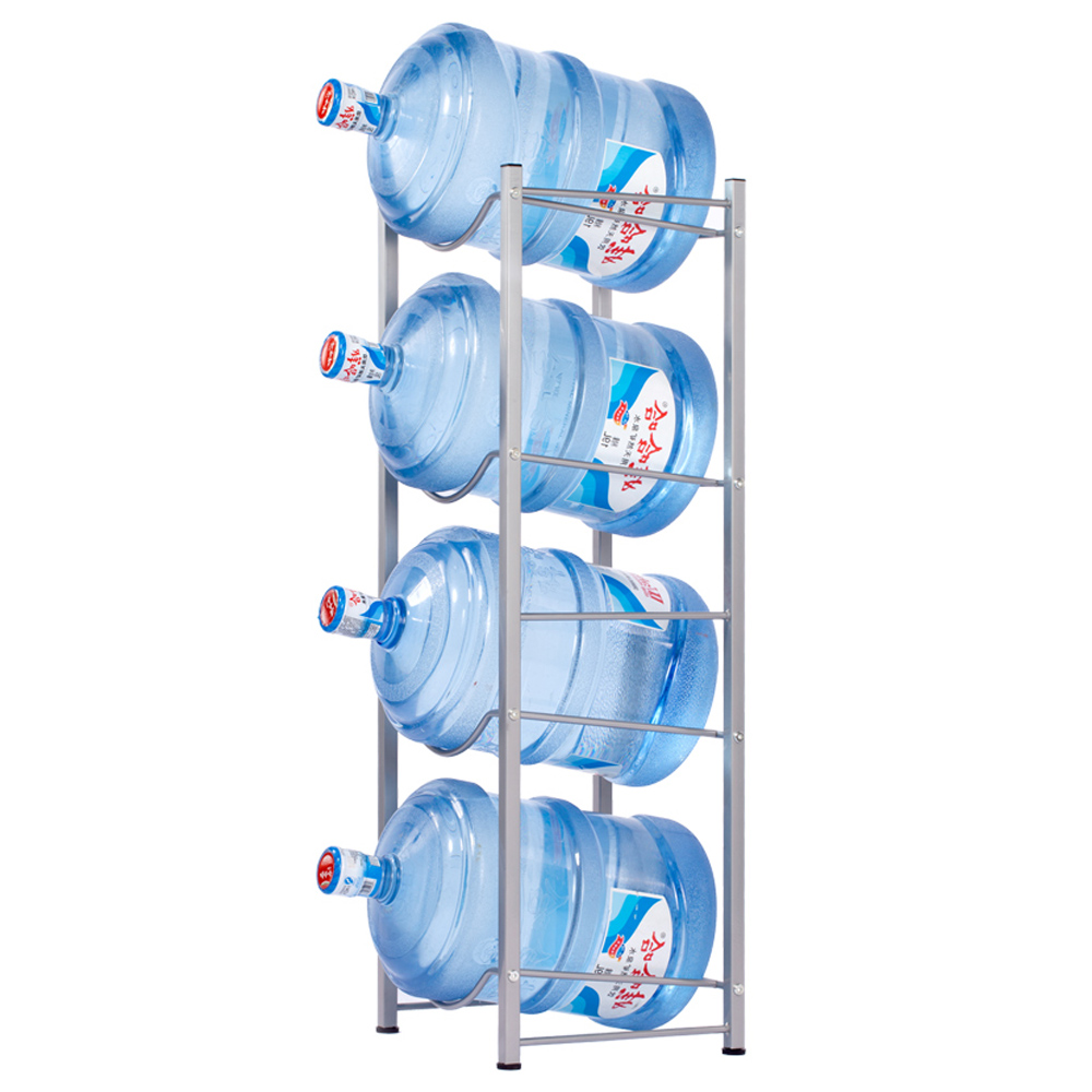 5 Gallon Water Cooler Jug Rack,Water Bottle Storage Rack,Detachable Heavy Duty Water Bottle Storage Shelves Organizer Cabby Rack