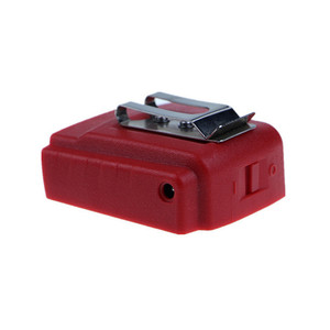 Image 2 - USB bağlantı noktası pil şarj cihazı adaptörü adaptörü Milwaukee 49 24 2371 M18