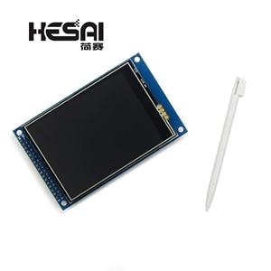 Image 2 - LCD da 3.2 pollici TFT Touch Modulo Display Dello Schermo Ultra HD ILI9341 per STM32 240x320 240*320 per arduino Kit Fai Da Te