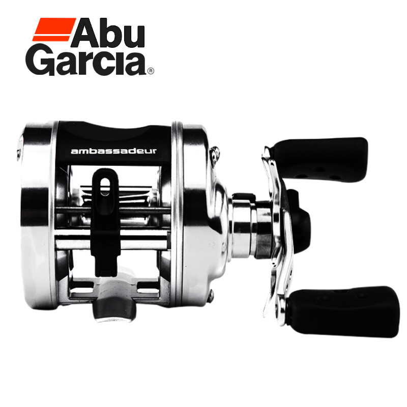 100% Original Abu Garcia AMBASSADEUR 5500 5501 2BB 5.1:1 Max Drag 5kg Drum Fishing Wheel Saltwater Boat Trolling Fishing Reel