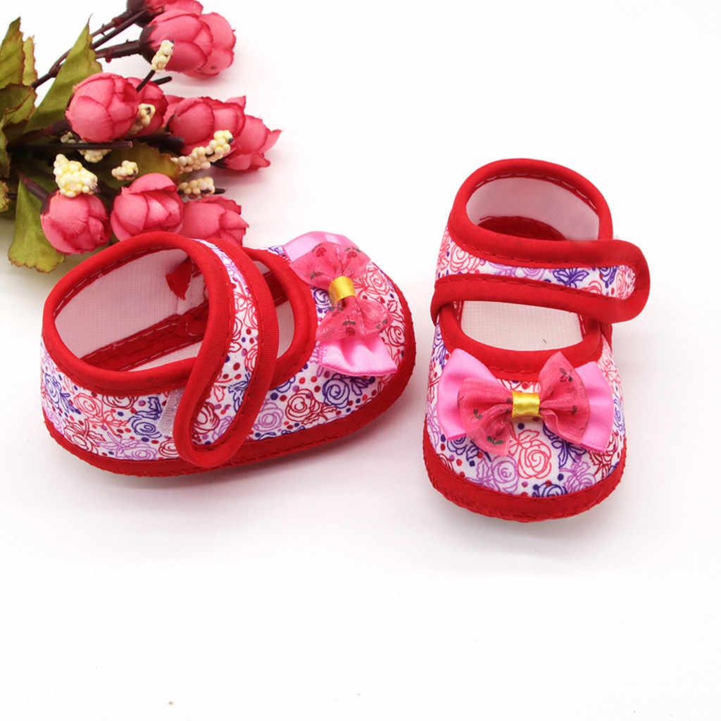 יילוד תינוק בנות נעלי פעוטות רך סוליות נעלי תינוקות תינוק Kawaii רקום הנעל Bebek Kadin Ayakkabı ראשון הליכונים שמלת נעל