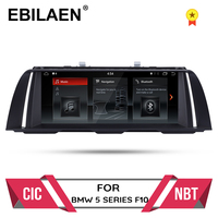 Car Multimedia player 10.25android 10 For BMW 5 Series F10/F11/520(2011 2016) CIC/NBT GPS Radio 4GBRAM 32GBROM auto navigation