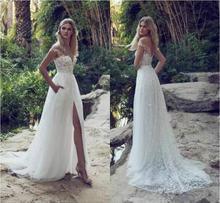 Limor rosen новейшие свадебные платья иллюзия с открытыми плечами