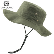 Hats Nepalese-Cap Bucket-Hat Military Hiking Women NEW Outdoor Blank Boonie Army Sports
