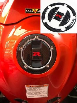 3D na bak z włókna węglowego Pad pokrywa wlewu paliwa do Suzuki GSX-R GSXR 600 GSXR 750 GSXR 1000 K1 K2 K3 K4 K6 K7 K8 K9 Hayabusa GSX1300R tanie i dobre opinie OLPAY Carbon fiber Naklejki i naklejki