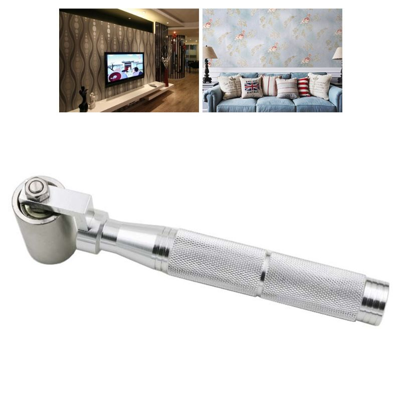 Home Wallpaper Wallpaper Stainless Steel Pressure Wheel Wallpaper Wallpaper Construction Tools Seam Flat Roller Wheel Bearing