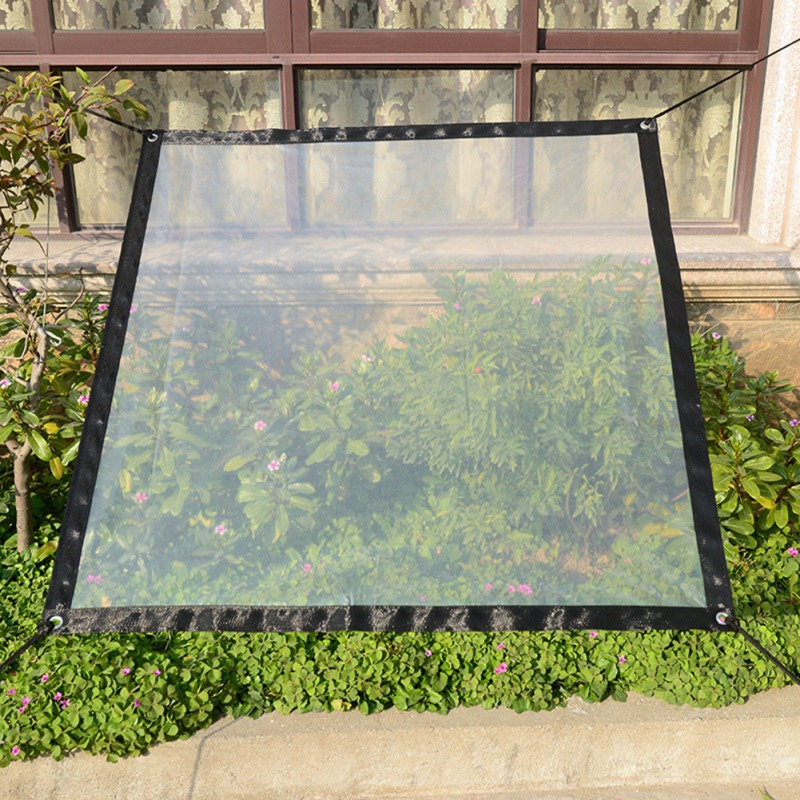 Balcony Window Transparent Rainproof Shed Cloth Winter Plant  Anti-bird Warm Anti-freezing Cover Protector Bag For Home