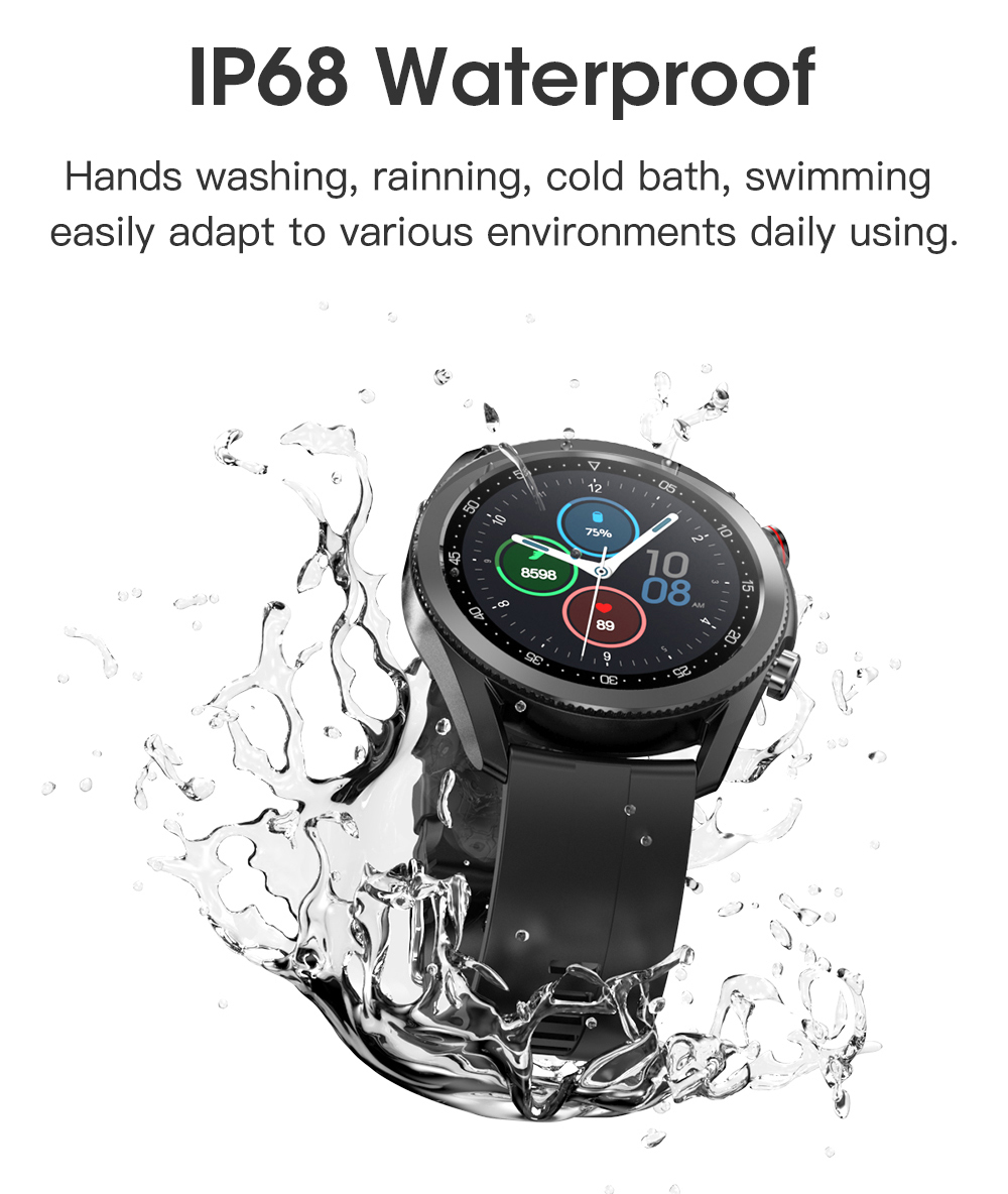 Hbf60413b6ae144978ea84078643fe97aZ Timewolf Smart Watch Men 2021 IP68 Waterproof Android Full Touch Sports Smartwatch Bluetooth Call For Samsung Huawei Android IOS