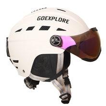 Шлем goexplore для катания на сноуборде взрослый шлем из абс