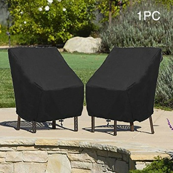 Wodoodporne meble ogrodowe pyłoszczelne pokrowce deszcz śnieg krzesło pokrowce na sofę stół i krzesła odporny na kurz pokrywy ochronne tanie i dobre opinie FancyQbue Nowoczesne 100 poliester TLUGOTS25013