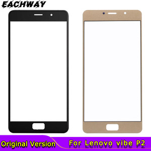 New Lenovo vibe P2 P2a42 P2c72 Front Outer Glass Lens Touch Panel Cover Replacement 5.5'' For Lenovo Vibe P2 Front Screen Lens