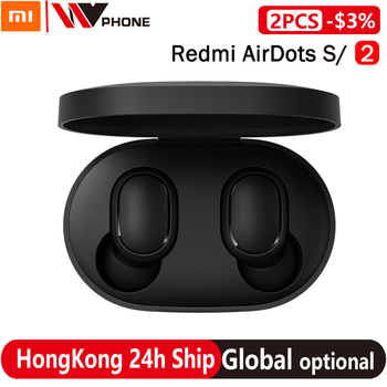 Xiaomi Redmi Airdots S TWS Wireless Stereo Earphone airdots 2 Bluetooth 5.0 Noise Reduction With Mic Earbuds AI Voice Control