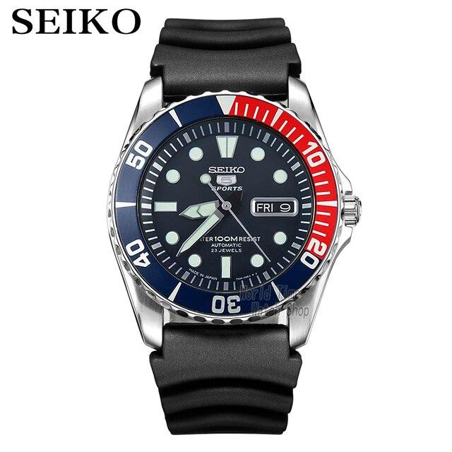 セイコー腕時計メンズ 5 腕時計自動高級ブランド防水スポーツ腕時計日付メンズダイビング時計レロジオ masculin snzf