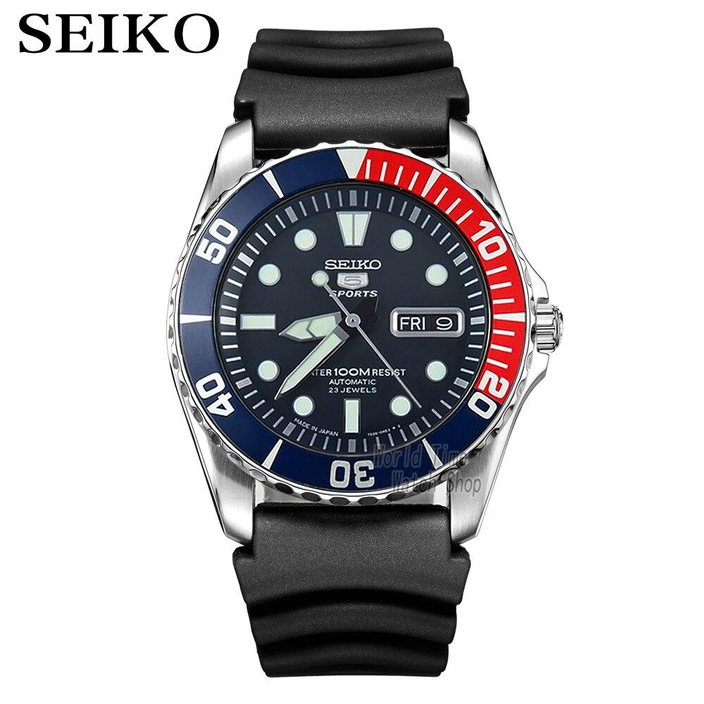 Seiko Watch Men 5 Automatic Watch Luxury Brand Waterproof Sport Wrist Watch Date Mens Watches Diving Watch Relogio Masculin SNZF